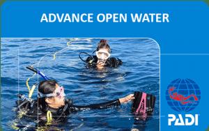 PADI (Junior) Advanced Open Water Diver course ***