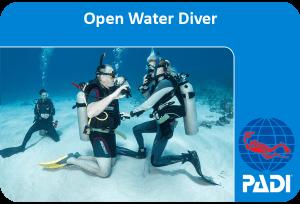 PADI (Junior) Open Water Diver course ***