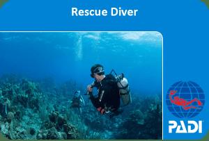PADI (Junior) Rescue course ***